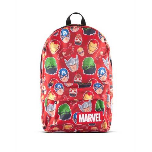 Zaino Rosso Personaggi Marvel