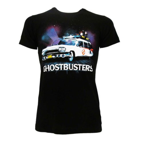 T-shirt Ghostbusters Car