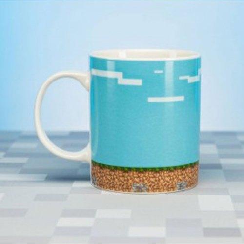 Tazza con adesivi Minecraft dettaglio tazza senza adesivi