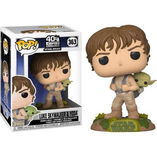 Funko Pop Luke Skywalker and Yoda Star Wars 363
