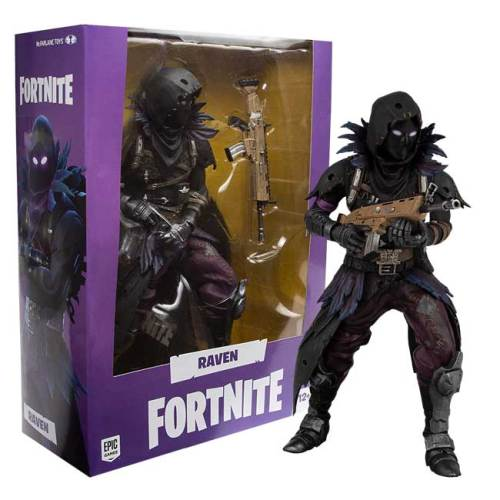 Action Figure premium Raven Fortnite 28cm