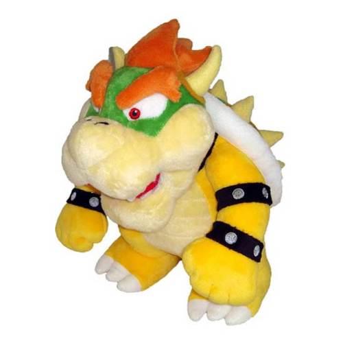 Bowser Kuppa Peluche Super Mario Nintendo 26cm
