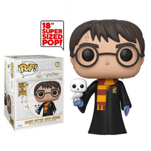Funko Pop Harry Potter with Hedwig 01 Super sized 35cm