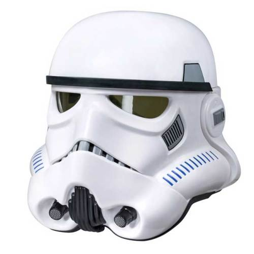 Star Wars Rouge One Black Series Electronic Voice Changer Helmet Imperial Stormtrooper Hasbro