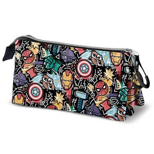 Astuccio Marvel graffiti