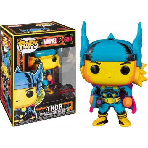 Funko POP Thor 650 Black Light Marvel Special Edition