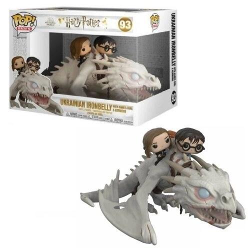 Funko Pop Ukrainian Ironbelly Gringotts Dragon Harry Hermione Ron 93 Harry Potter
