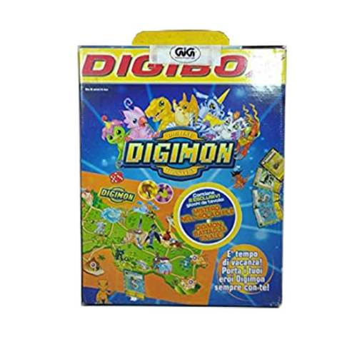 Digibox - mistero nell'isola di file e Digimon la battaglia finale Bandai Gig