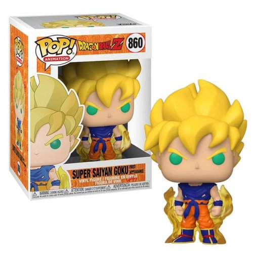 Funko Pop Super Saiyan Goku First Appearance 860