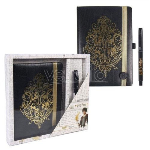 Set Notebook e Penna Harry Potter Hogwarts