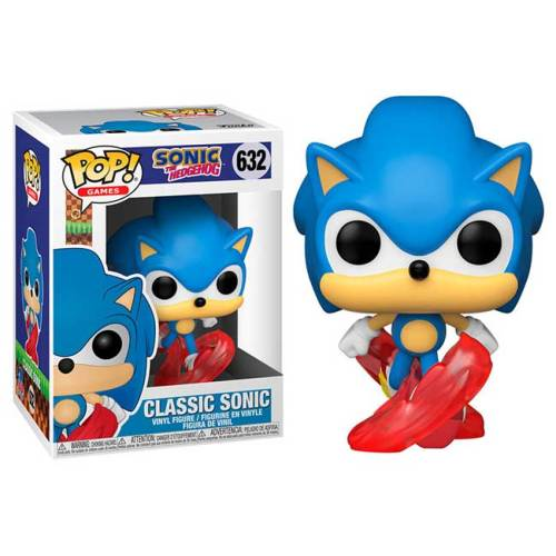 Funko Pop Classic Sonic Sonic the Hedgehog 632