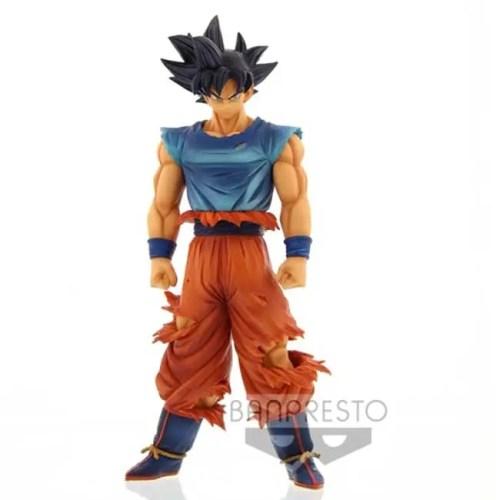 Figure Son Goku Supergrandista nero resolution of soldiers Son Goku Ultra Instinct Omen Dragonball Super