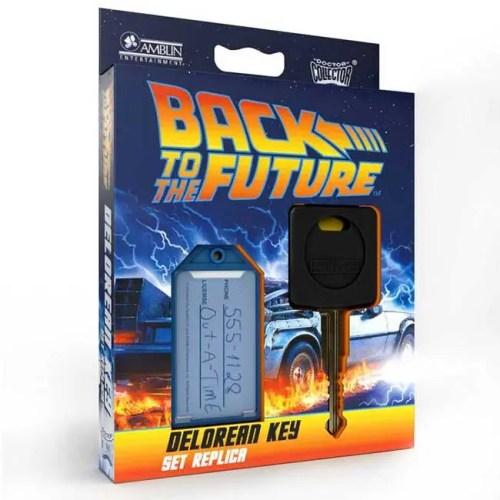 Replica chiave DeLorean Back To The Future