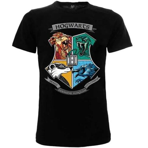 T-Shirt Hogwarts Casate