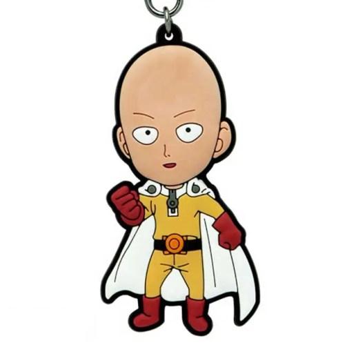 portachiavi in gomma Saitama One Punch Man