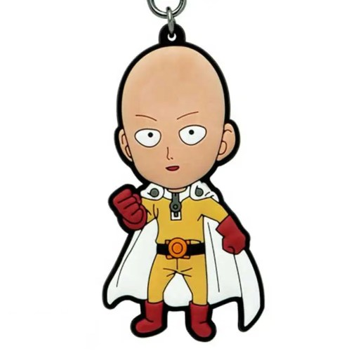 portachiavi in gomma Saitama One Punch Man