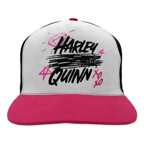 Cappello con visiera regolabile Harley Quinn