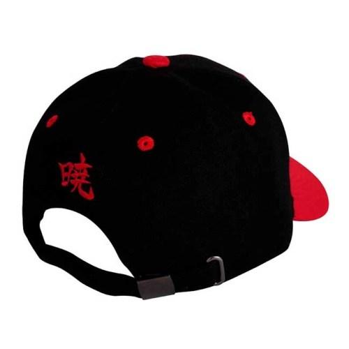 Cappello con visiera regolabile logo Akatsuki Naruto Shippuden