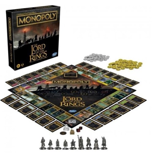 Monopoly the Lord of The Ring versione Inglese