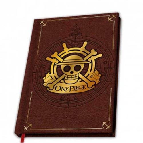 Notebook One Piece logo oro