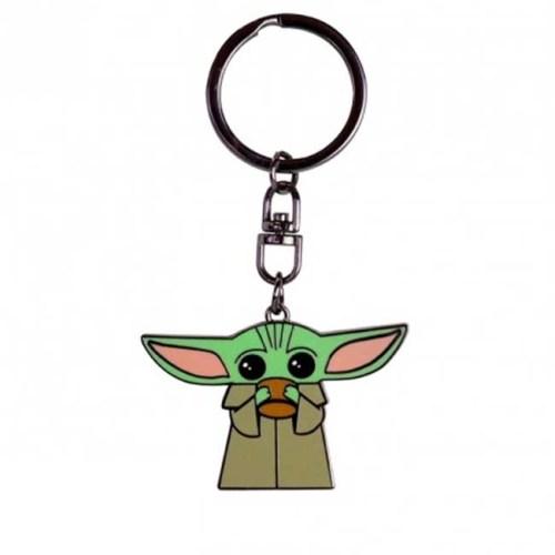 Portachiavi in metallo Baby Yoda the Mandalorian Star Wars