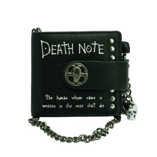 Portafoglio Premium con catena Death Note