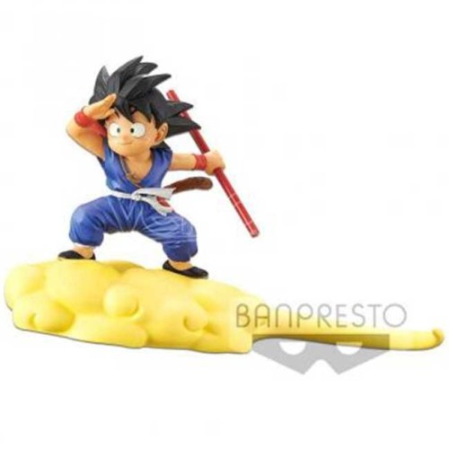 Figure Goku nuvola speedy tuta blu