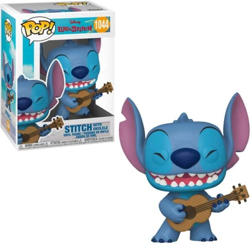 Funko Pop Stitch with Ukulele Lilo and Stitch 1044
