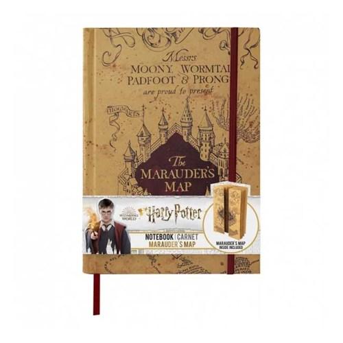 Notebook Harry Potter con piccola replica Mappa del Malandrino