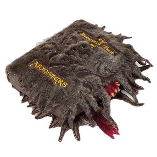 Peluche cuscino libro dei mostri Harry Potter 40x30 cm