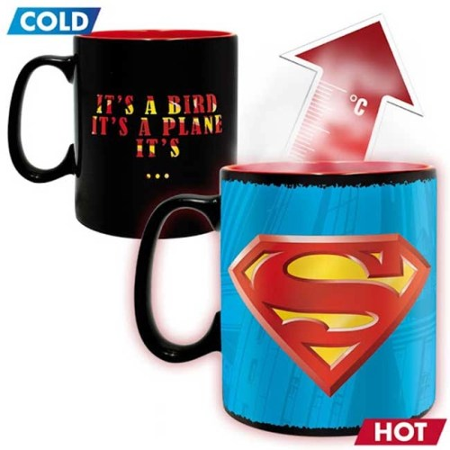 Tazza Magica Superman DC Comics