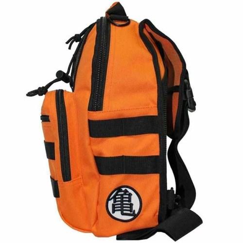 Zaino Tracolla Monospalla Dragon Ball Z logo Mini Sling Arancione