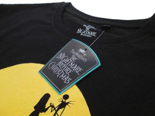T-Shirt Nightmare Before Christmas dettaglio