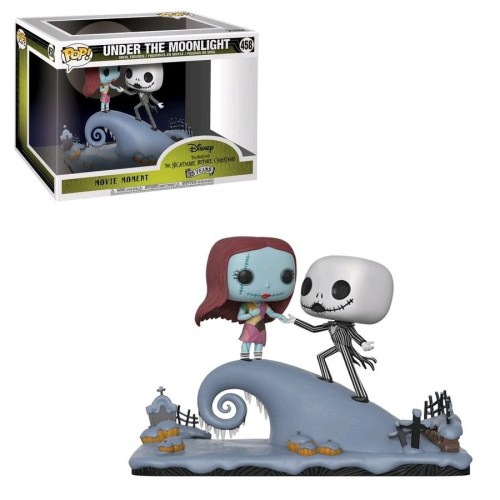 Funko POP movie Moments Nightmare before Christmas Jack e Sally 458 Under the moonlight