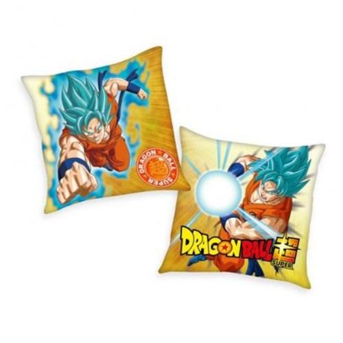 Cuscino DragonBall Super Goku Super Sayan blu 40 x 40 cm