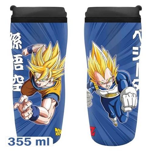 Travel Mug DragonBall Z Goku e Vegeta
