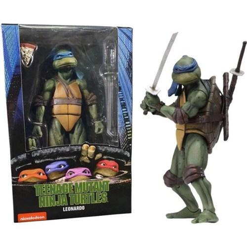 Action Figure Leonardo Teenage Mutant Ninja Turtles Neca