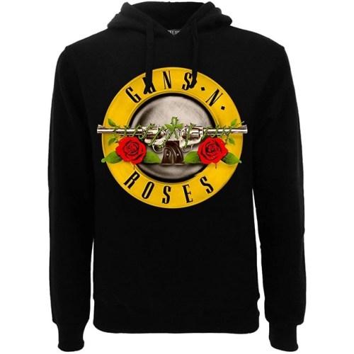 felpa con cappuccio Guns N Roses Logo Classic