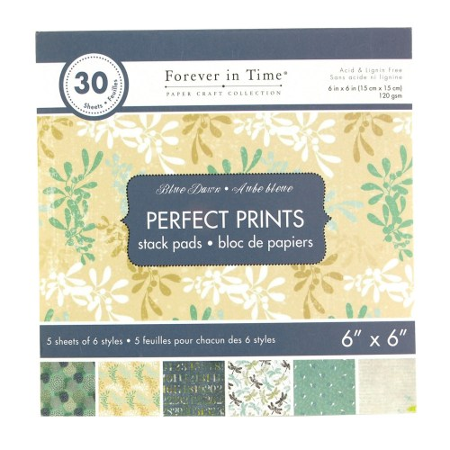 Paper Craft Collections Forever in Time Blue Dawn