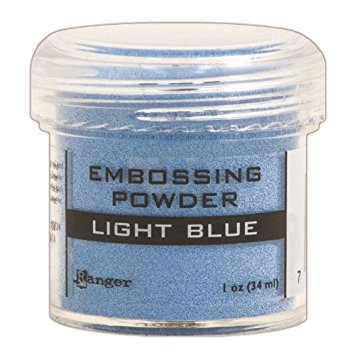 Polvo de Emboss, Light Blue, marca Ranger