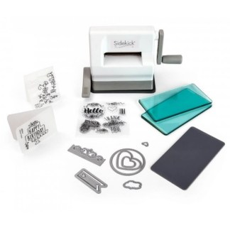 Sidekick Starter Kit (White & Gray), Sizzix