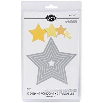 Framelits Estrellas, Sizzix