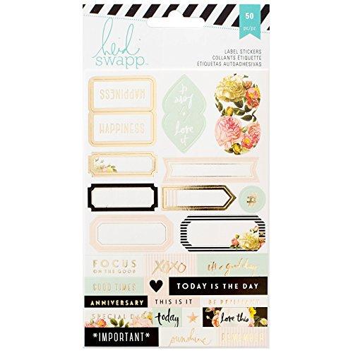 Labels Memory Planner Heidi Swapp