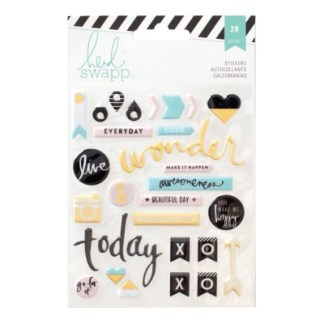 Stickers Puffy Planners Heidi Swapp