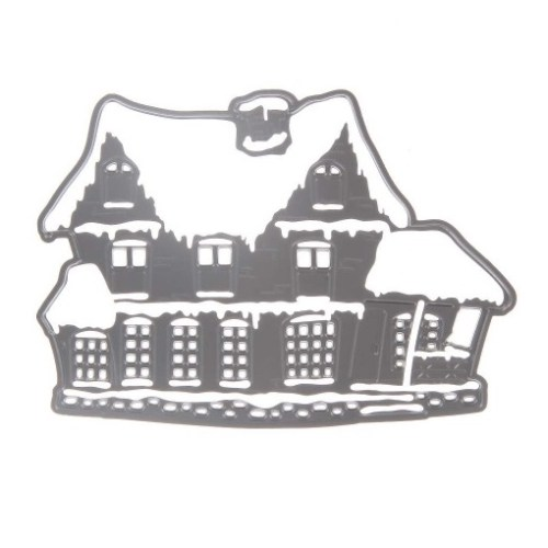 Troquel Casa Navideña