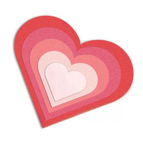 Framelits Hearts Sizzix