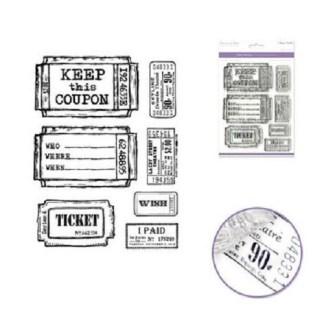 Set de Sellos Tickets de Viaje, Forever in Time