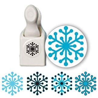 Martha Stewart, Stamp & Punch Copos de Nieve