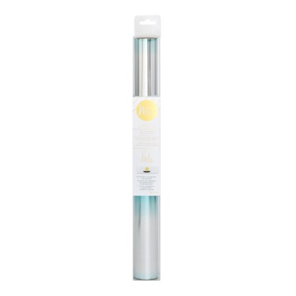 Rollo Lámina Reactiva Minc Color Turquesa Plateado (Teal Silver)