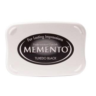 Memento Ink Pad, Black, Imagine Cra